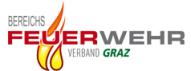 Logo der Steirischen Feuerwehren mit dem Text Bereichsfeuerwehrverband Graz