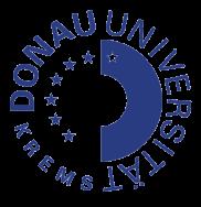 Rundlogo der Donauuniversität Krems