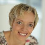 Portraitfoto von Manuela Mark, Bild kreisrund geschnitten